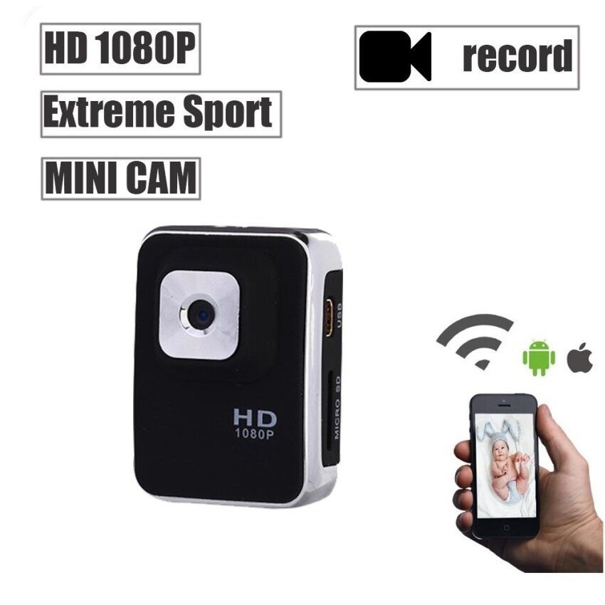 A3S Mini HD 1080P Sports IP Camera Waterproof DV Camcorder MiniDrive Recorder