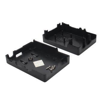 ABS Case + Cooling Fan + Heat Sink for Raspberry Pi 3 Model B -Black - 4