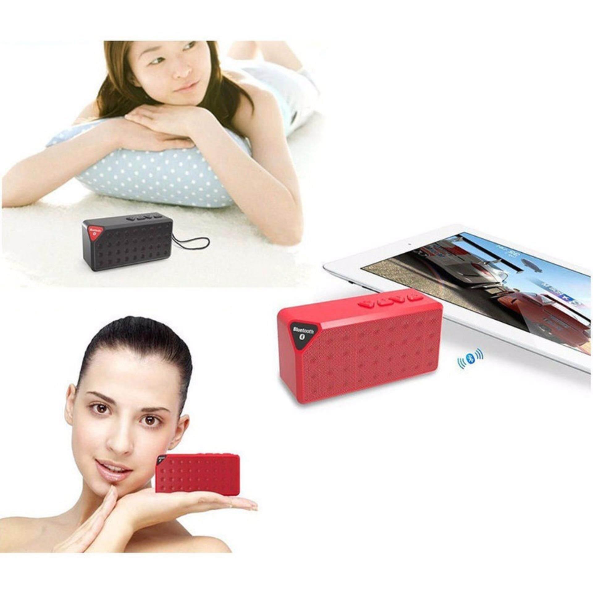 Acediscoball X3 Mini Speaker Bluetooth TF USB FM Wireless PortableMusic Sound Box Loudspeakers .