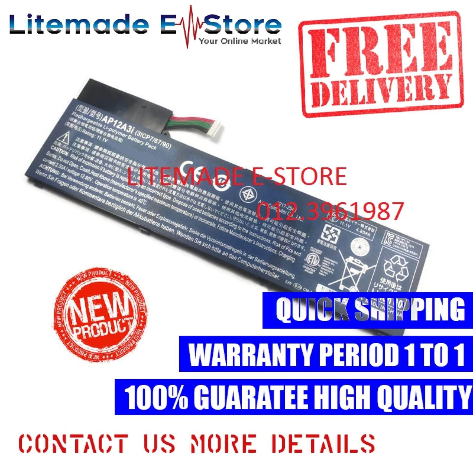 Acer Aspire M3-581TG-52466G52Mnkk Laptop Battery