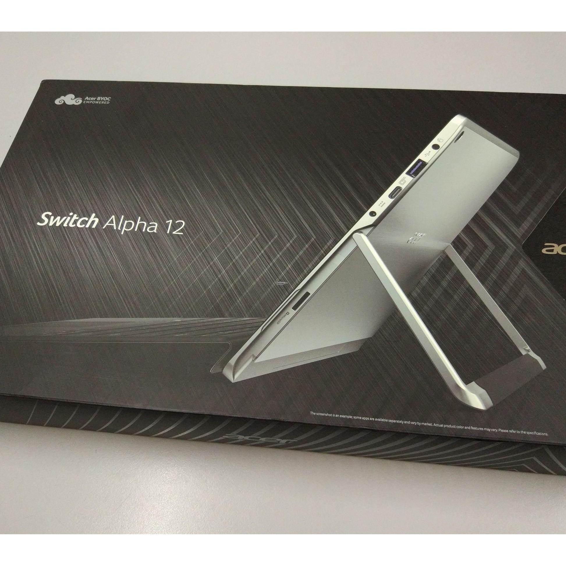 Acer Switch SA5-271-300K Laptop- 12Inch/ i3-6100U/ 4GB/ 128GB/ W10