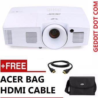 Harga ACER X117H SVGA PROJECTOR FREE ACER BAG + HDMI CABLE