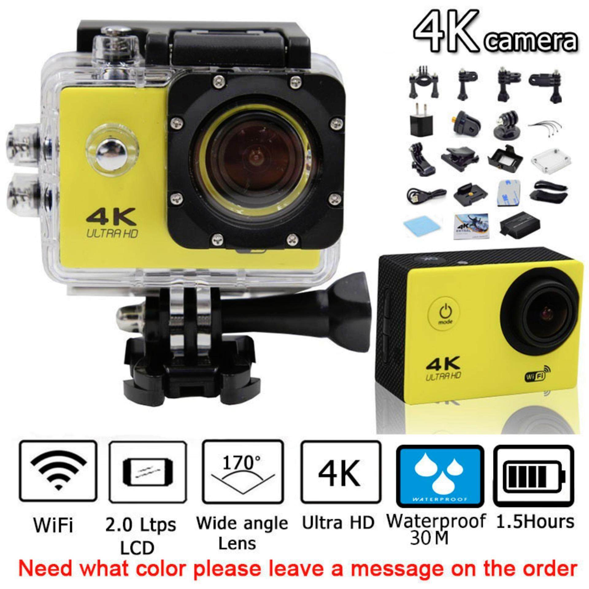 Action Camera Ultra-HD 4K 2-inch LCD Wifi Sports Cam