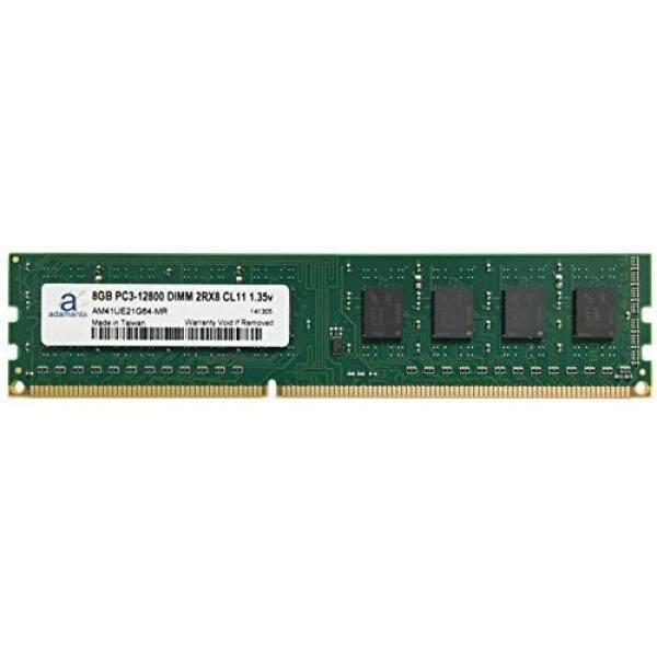 Adamanta 8 GB (1X8 GB) Buah Desktop Upgrade Memori untuk Dell Alienware, Inspiron, optiPlex, Presisi DDR3L 1600 MHz PC3L-12800 UDIMM 2Rx8 CL11 1.35 V Ram-Internasional