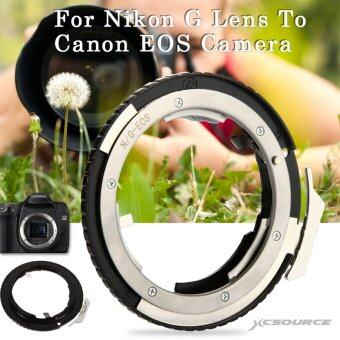 Harga Adapter Ring For Nikon G AF-S AI F Lens to Canon EOS EF Mount DSLRCamera