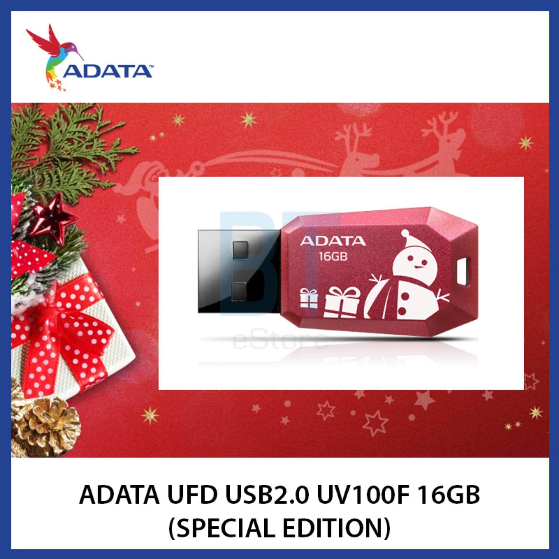 AData UFD USB2.0 UV100F 16GB (X'mas Special Edition)