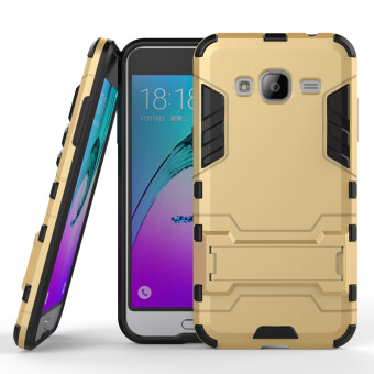 Airress TPU/PC 2in1 Armor Rugged Military Grade Phone Case Cover for Samsung Galaxy J3
