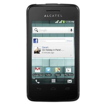 Alcatel OneTouch Glory 2S Pro 4GB Black + Protective Screen & Flip Cover + 1 Year Internet Coupon