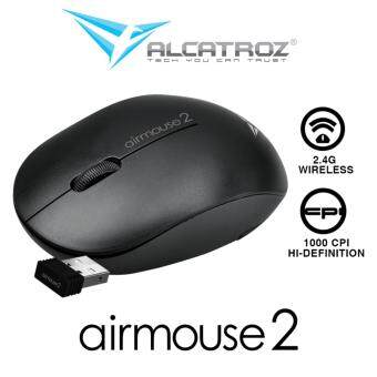Alcatroz Airmouse 2 High Resolution Wireless Mouse Free Special Edition Mousemat Malaysia