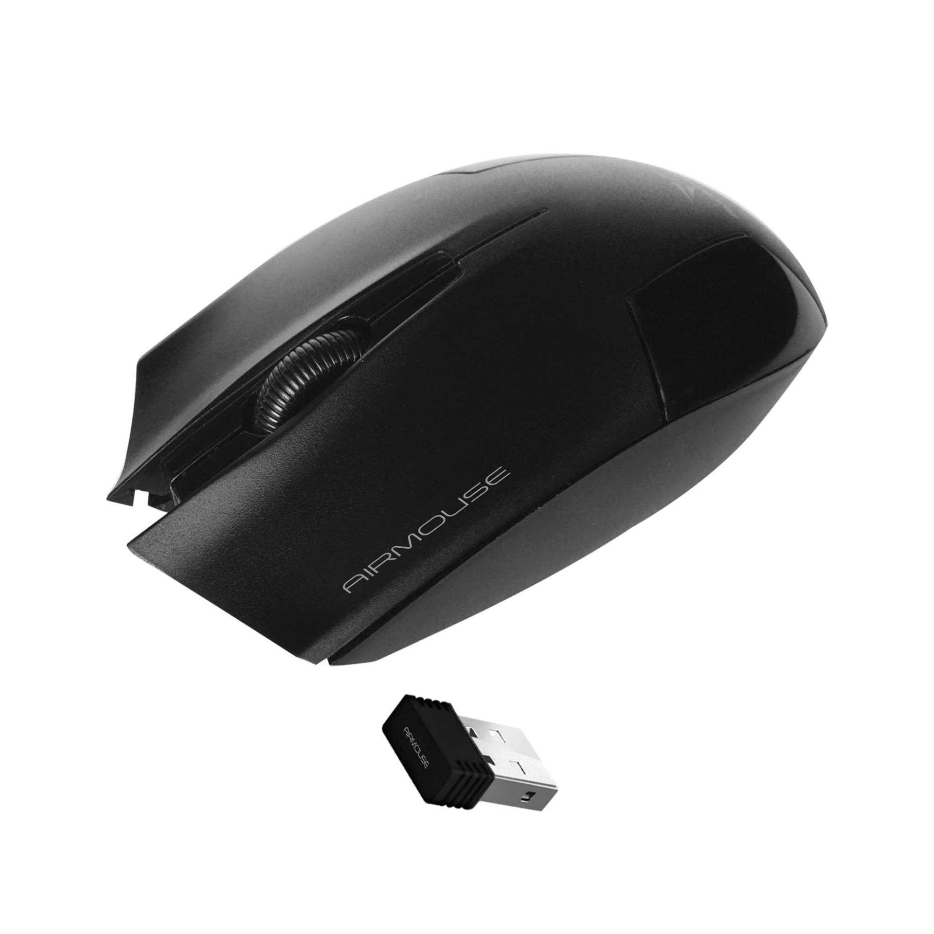 Alcatroz AirMouse Wireless Optical Mouse (Black) Malaysia