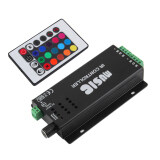 Spek Allwin 24 Suara Musik Kunci Remote Kontrol Ir Sensitif Untuk Lampu Strip Led Rgb Not Specified