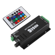 Spesifikasi Allwin 24 Suara Musik Kunci Remote Kontrol Ir Sensitif Untuk Lampu Strip Led Rgb Paling Bagus