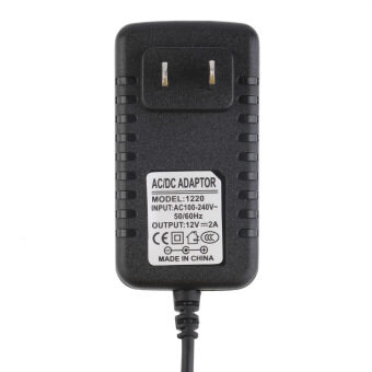 Allwin DC 12 V 2 Amp Sumber Daya Listrik Trafo For Adaptor AC 5050 5630 3528