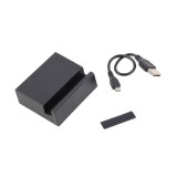 Toko Jual Allwin Magnetic Desktop Dok Pengisian Charger Kabel Usb Cradle For Xperia Z1 Z2 Z3 Hitam