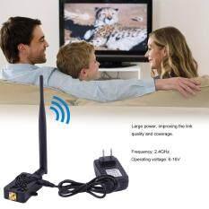Harga Allwin Profesional 2 4 Ghz 4 W Wifi Nirkabel Broadband Amplifier Router Sinyal Booster Paling Murah