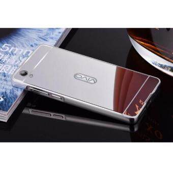 Aluminum Mirror Metal Bumper Case Cover for Vivo Y37