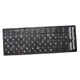 Amango Computer Keyboard Layout Stickers Russian Standard