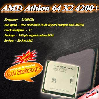 AMD Athlon 64 x2 4200+ 2.2Ghz AM2 AM2+ (Refurbished)