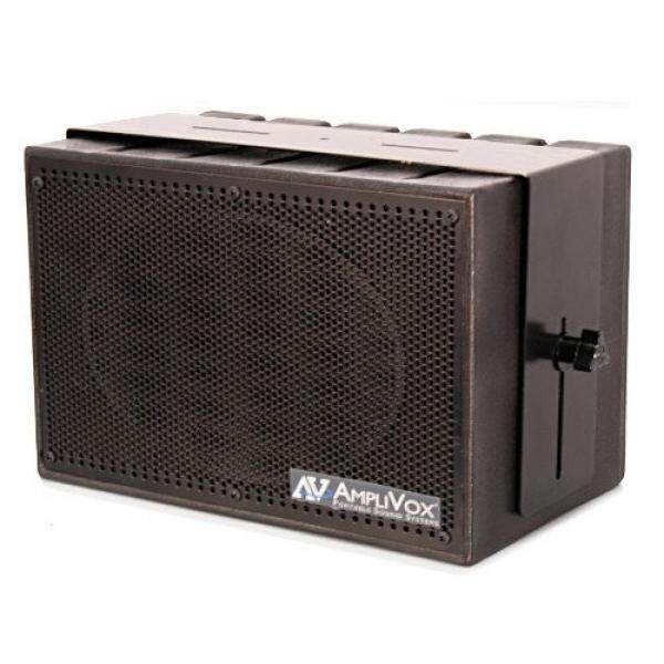 Amplivox S1230 Mity-Kotak 50 W Kompak PA Sistem dengan Pembicara Yang Diperkuat dan UHF Mikrofon-Internasional