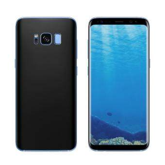 ANGIBABE 0.1mm Full Cover Soft PET Plated Curved Front + Back GuardFilm for Samsung Galaxy S8 Plus G9550 - Black