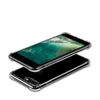 Anti-shock Cushion Shockproof Silicone TPU Cover Case for App.le i.Phone 6/ 6S (Transparent) - 5