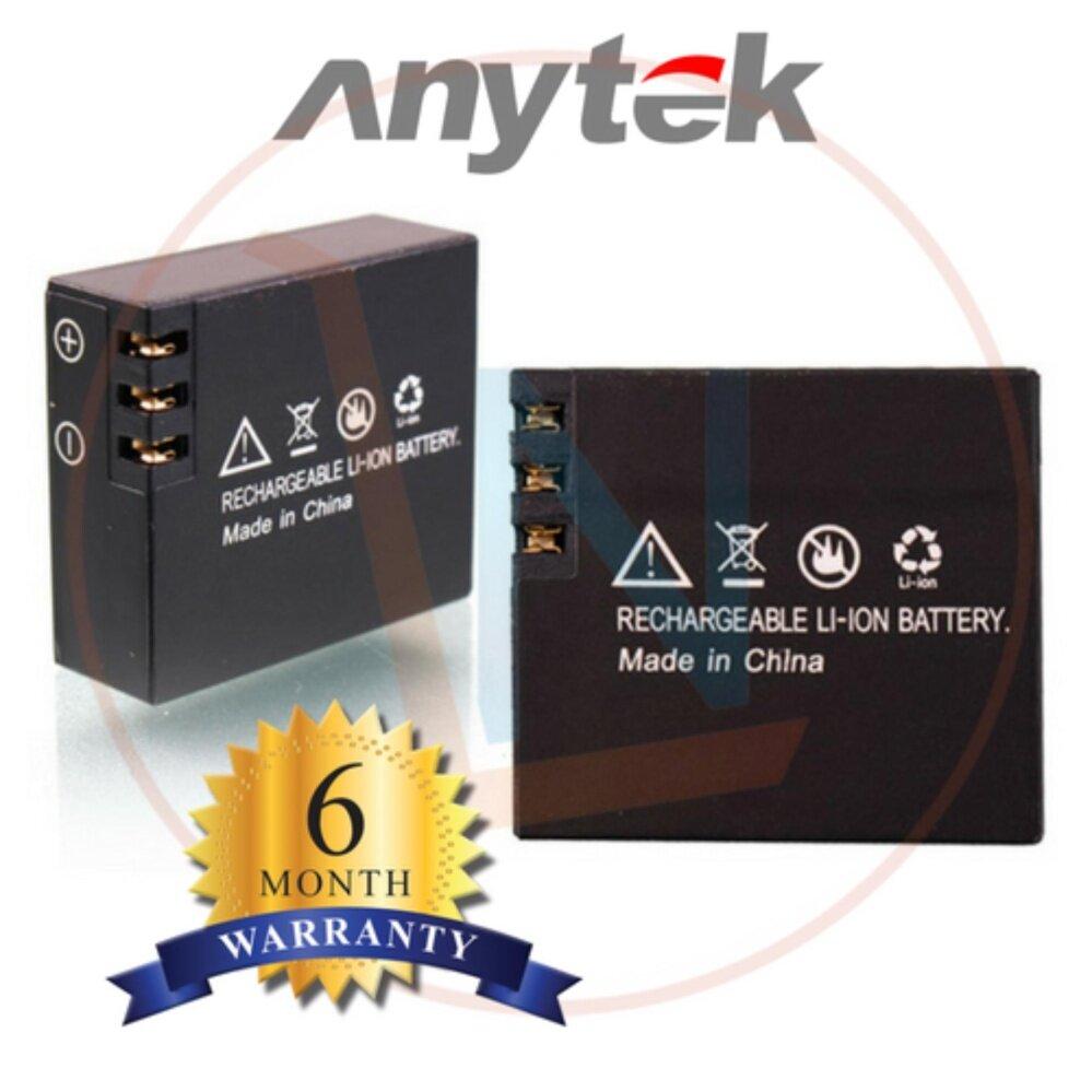 Anytek 3.7v Li-ion Battery 1050mAh 3.885WH for Action Cam