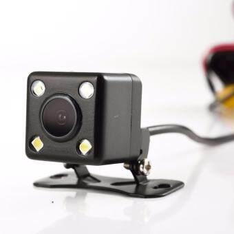 Anytek T6 HD Front & Rear Recording 2 in 1 Dual Lens Car CameraDVR Recorder with Rear View Mirror Digital Car Camcorder DashCam - 4
