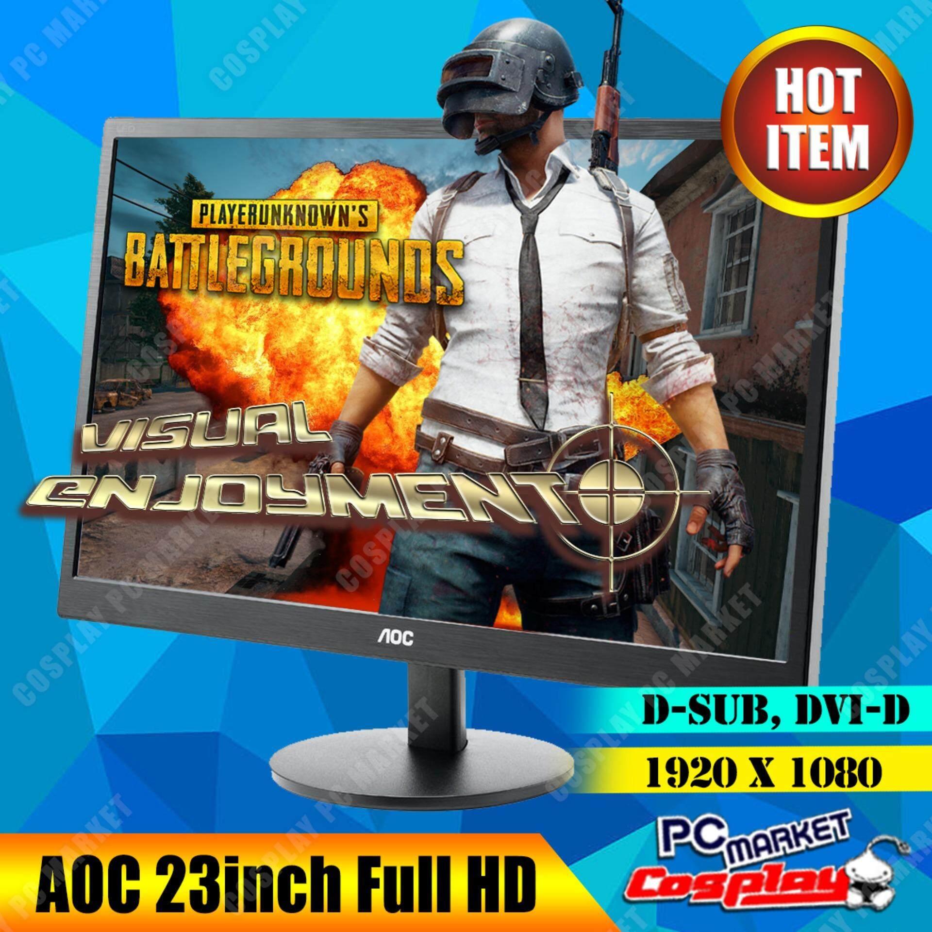AOC E2370SD 23Inch LCD Monitor 1920X1080 Wide Screen Malaysia