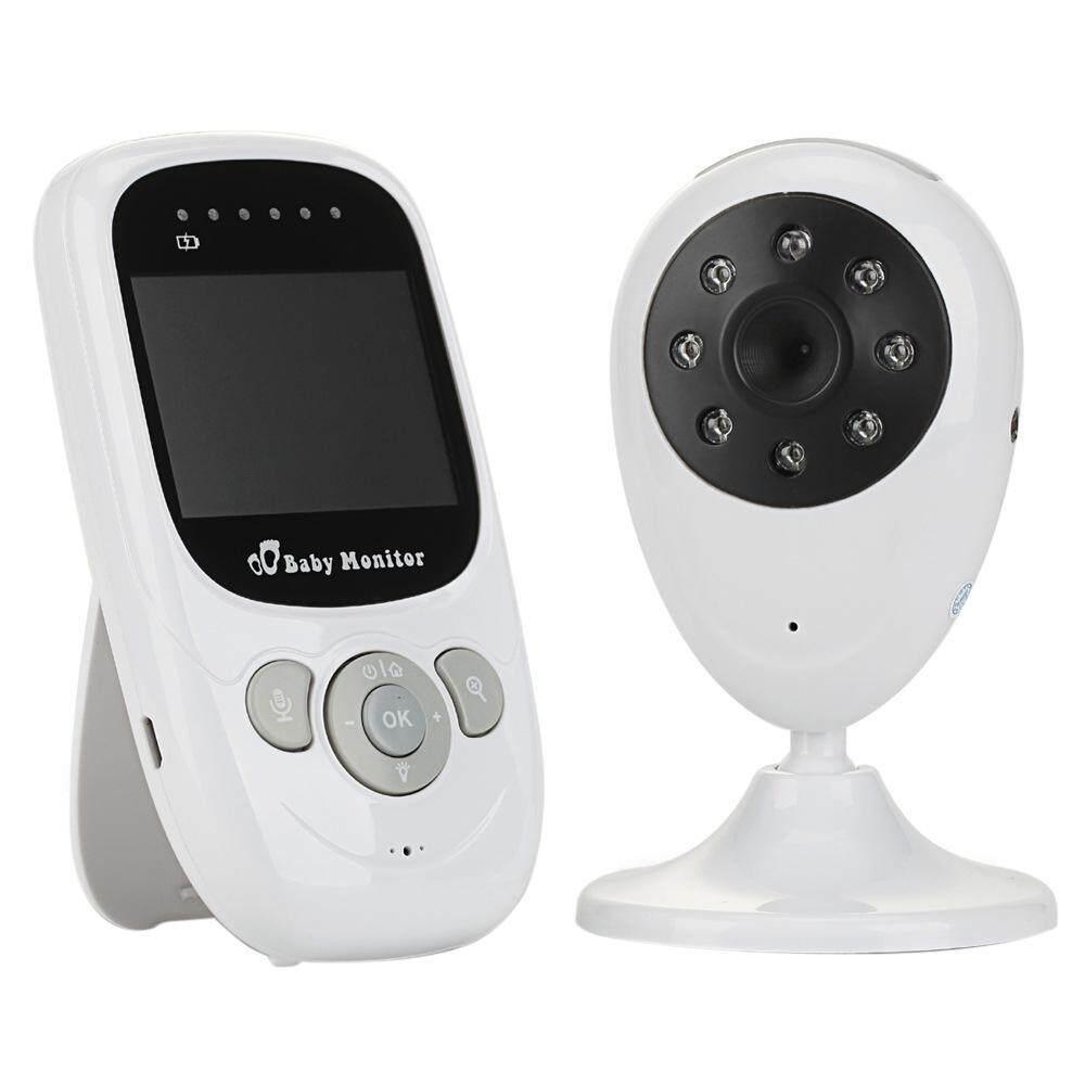 Aojbteng Womdee® Nirkabel 2.4 GHz Bayi Monitor Kamera 2.4 Inci Warna LCD Malam Vision Keamanan Audio Video-Internasional