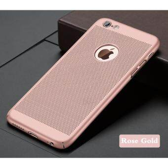 Apple iPhone 6 / 6s Heat Dissipation Full Cover Matte PC Case (FREE Premium Tempered
