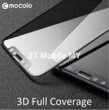 Apple IPhone X 3D Full Cover Curve Mocolo Tempered Glass Screen Protector (Black)