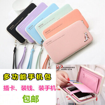 Apple iphone7 purse bag 7Plus big screen mobile phone bag 6PPortable Bag mini small bag shell Korean bags women
