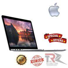 Apple MacBook Pro MF841 13.3-Inch Laptop with Retina Display (512 GB SSD, 2.7GHz Intel Core i5 processor, 8 GB 1867 MHz LPDDR3 RAM), Silver) (2015 version) FORCE TOUCH TRACKPAD Malaysia