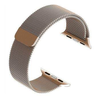 Apple Watch Band - 38mm Milanese Loop Stainless Steel Bracelet Strap Magnetic Closure Clasp - Replacement