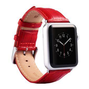 Apple Watch Band - iWatch Bands 42mm Genuine Leather Strap iPhoneWatch Band Bracelet Replacement Wristband with