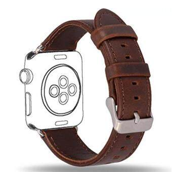 Apple Watch Band Series 1 Series 2,Premium Vintage Genuine LeatherWrist Strap Replacment with Classic