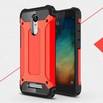 Harga Armor Guard PC + TPU Hybrid Mobile Case for Xiaomi Redmi Note3/Note 3 Pro - Red