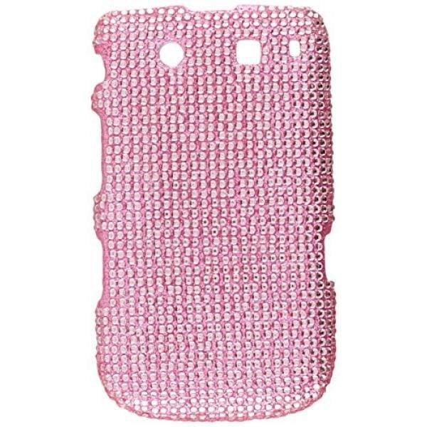 Asmyna BB9800HPCDMS004NP Luxurious Dazzling Diamante Bling Case for BlackBerry Torch 9800 - 1 Pack - Retail Packaging - Pink - intl