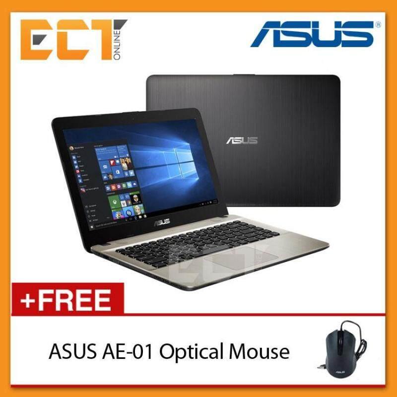 Asus VivoBook Max X441S-AWX041T 14 Laptop (N3060,500GB,4GB,W10) (Black) Malaysia