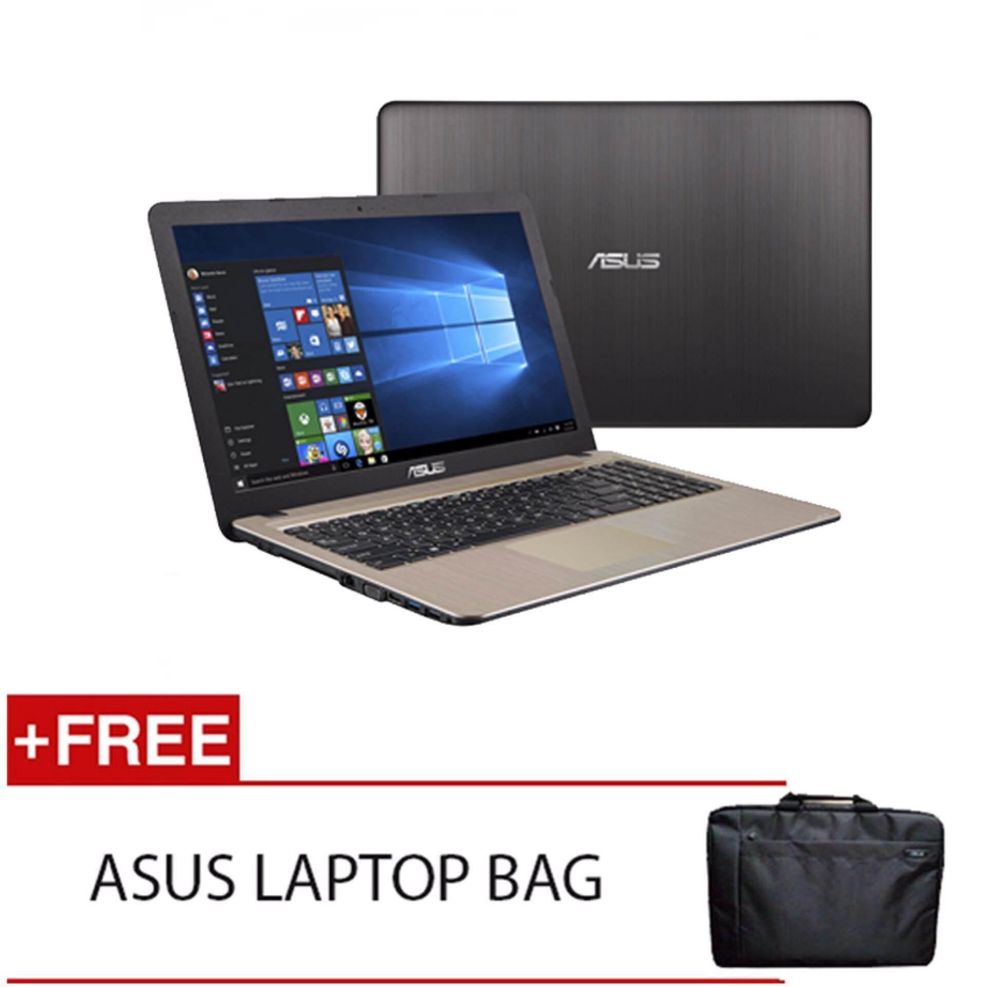ASUS X541N-AGO280T N3350 4G 500G WIN10 (BLACK) FREE ASUS LAPTOP BAG Malaysia