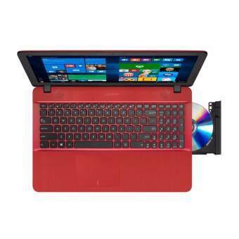 ASUS X541N-AGO282T N3350 4G 500G WIN10 (RED) FREE ASUS LAPTOP BAG Malaysia