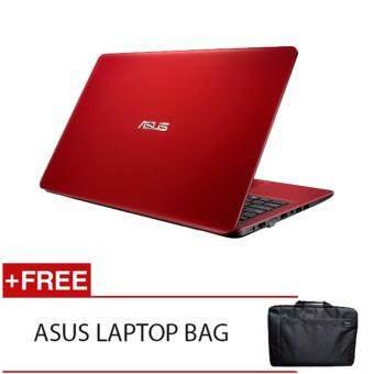 ASUS X541N AGO282T N3350 4G 500G WIN10 RED FREE LAPTOP BAG