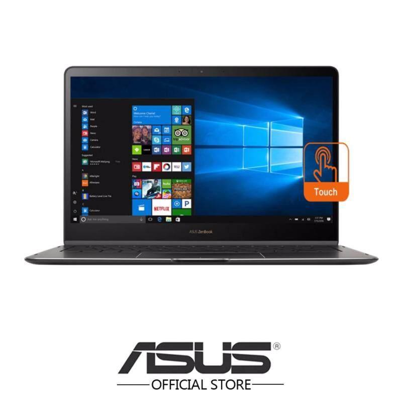 Asus Zenbook Flip S UX370U-AC4183T 13.3 FHD Touch Laptop (i7-7500U, 8GB, 512GB, Intel, W10) - Smoke Grey Malaysia