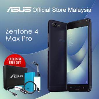 "ASUS Zenfone 4 Max PRO ZC554KL (3GB/32GB ROM/5.5"" Inch/5000 mAh Battery), Exclusive Pre-Order Free Gift Only At Here!!!"