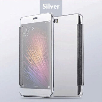 Asuwish Luxury Clear View Flip Case For Xiaomi Redmi Note 3 HardMirror Cover Phone Case