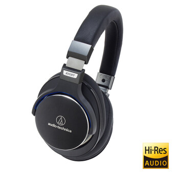 Audio-Technica ATH-MSR7 SonicPro High-Resolution Audio Headphones(Black)