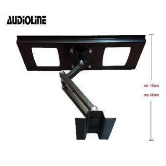 "AUDIOLINE Single Arm 32"" - 65"" LED/LCD Flat Panel TV Wall MountFull Motion Bracket - 2"