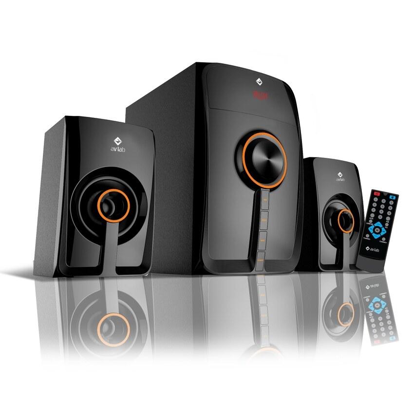 AV LAB BT3 Bluetooth 2.1 Multimedia Speaker (Black) Malaysia