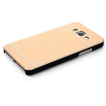 Back Case For Samsung Galaxy A3 Gold