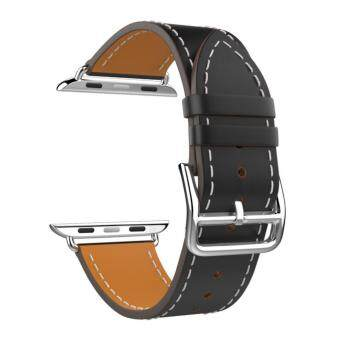 Band for Apple Watch Series 1 Series 2, Luxury Genuine LeatherSmart Watch Band Strap Single